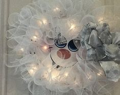 Items similar to Snowman Wreath Wire Form on Etsy Wire Wreath Forms, Snowman Wreath, Chandelier, Ceiling Lights, Wreaths, Etsy, Decor, Door Wreaths, Ceiling Lamps