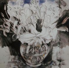 Jim Dine, A Bowl of Lilies, 1990