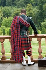 Scottish Blood? Get your tartan made into the perfect outfit for that highland wedding!