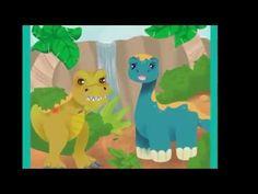 CUENTO.Un dinosaurio de mal humor. Cuentos para niños pequeños.