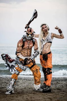 Borderlands cosplay by MissHatred LeonChiro by JessicaMissHatred