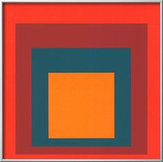 Study for Homage to the Square, c.1954 Pre-made Frame by Josef Albers at Art.com