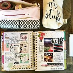 week of October is in the books! Memory planning in my spiral If you don't have a pocket printer, I highly recommend - game changer! I use the LG, but have heard great things about the HP Sprocket & Polaroid as well Hp Sprocket Photo Printer, Life Journal, Journal Ideas, Bullet Journal, Carpe Diem Planner, Life Planner, Planner Ideas, Simple Stories, Grad