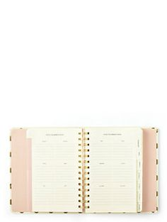 2016 17-month medium agenda- gold dots by kate spade new york.... BUY THIS FOR 2016-17 SCHOOL YEAR!!