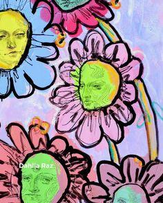 Buy prints of this painting on dahliaraz.com Buy Prints, Acrylic Art, Wall Collage, Dahlia, Art Art, Flower Arrangements, My Arts, Lifestyle, Flowers