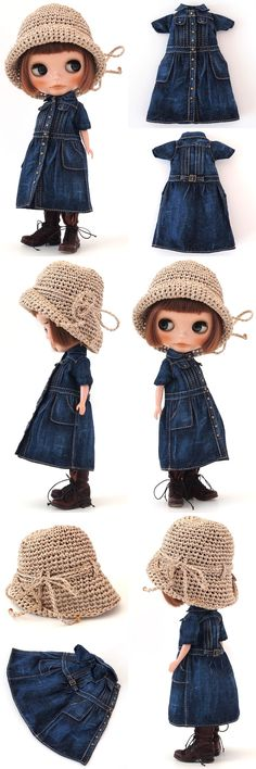 ** Blythe outfit ** Lucalily 379**の画像:mahounote.