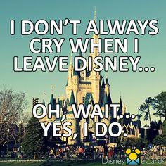 Leaving disney is the worst! walt disney world vacations, disney trips, disney fun Disney Nerd, Disney Memes, Disney Quotes, Disney Love, Disney Magic, Disney Parks, Walt Disney World, Disney Stuff, Disneyland Quotes