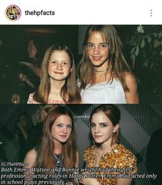 This gives me so much faith tho because I only act in school plays but I want to act in alot more things! Emma Watson is such a role model to me!