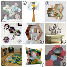 Put a hex on me: 9 ways to use hexagon designs in your home www.freshdesignblog.com