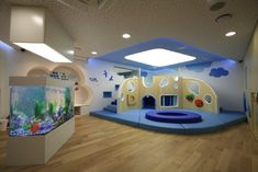 카카오, 판교에 사내 보육시설 개원 Children's Clinic, Indoor Playroom, Kids Play Spaces, Kids Cafe, Shapes For Kids, Kids Library, Kindergarten Centers, Indoor Playground, Baby Bedroom
