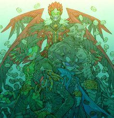 Art by Toru Nakayama of Megaman Zero fame.