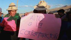 """Después de los enfrentamientos que provocaron cuatro muertes, el gobierno de Ollanta Humala decretó estado de sitio y envió militares para proteger el proyecto minero """"más grande en la historia del Perú""""."""