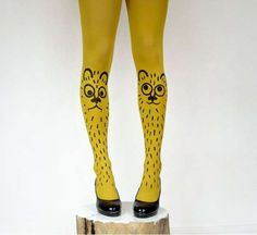 Quirky Fable Stockings - 'Les Queues de Sardines' Transforms Childhood Fantasies into Luxe Tights (GALLERY)