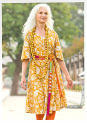 """""""Istanbul"""" dress in cotton/linen"""