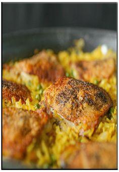 Saffron rice with chicken   http://www.ibssanoplus.com/low_fodmap_saffron_rice_chicken.html