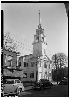 5 x 7 in. Essex County, Massachusetts, Buildings, Street, American, Travel, Trips, Building, Traveling