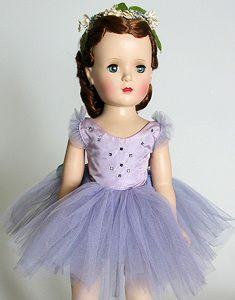 1954 Margot Ballerina Vintage Madame Alexander Doll  ~ I have a few of the old dolls ~ rh