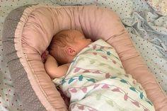 Gratis Nähanleitung Babynest für das Kinderzimmer ❤ Schnittmuster ❤ Nähanleitung mit Foto-Tutorial ❤ für Anfänger ❤ ✂ Jetzt Nähtalente.de besuchen ✂