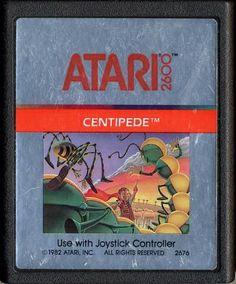 Atari centipedecartridge | Centipede (Cartridge)