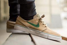 """Nike SB Zoom Stefan Janoski """"Khaki & Gorge Green"""""""
