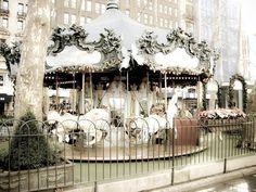 Carousel in Manhattan, NYC~♡