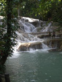 JamaicA.D.. I have been to these falls and climbed then to the top.. Its pretty awesome!