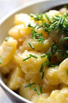 Recipe: Warm potato salad
