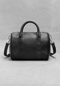 Leather handbag &OtherStories