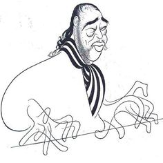Al Hirschfeld - Duke Ellington!