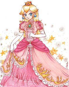 Princess Peach by YunaSakura.deviantart.com on @deviantART