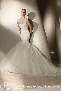 San Patrick Bridal Gown Rincon - Visit Wedding Shoppe Inc. for designer bridal gowns, bridesmaid dresses, and much more at http://www.weddingshoppeinc.com