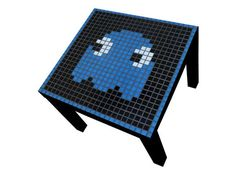 So making this #pacman mosaic table