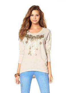 Sweatshirt mit Pailletten von  AJD Oberbekleidung, Jacken, Modische  Kleider, Blusen, 97da541b4f