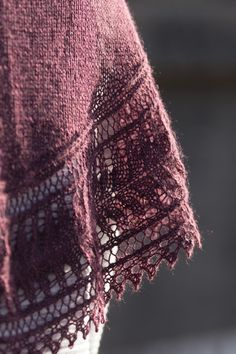 palmetto designed by paulina popiolek / from the summer ebbs collection / in quince & co. piper, color laredo