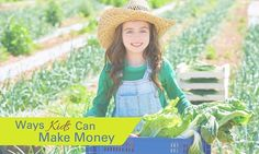 8 Ways Kids Can Make Money This Summer