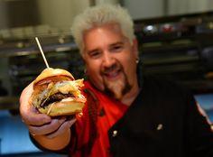 Guy Fieri in Guy Fieri's Vegas Kitchen & Bar Welcome Event
