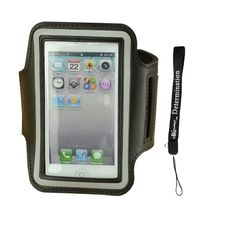 Adjustable Neoprene Sport Running Armband for Iphone 3 3GS / Iphone 4 4S 4G / Iphone 5 5S / Apple ipad touch + eBigValue Determination Hand strap. Compatible with Iphone 3g / iphone 3gs / iphone 4 / iphon 4g / iphone 4s / iphone 5 / iphone 5s / iphone 5c / Ipod touch. Adjustable armband gives you the versatility of carrying your device in a variety of ways. Full screen protector allows full touch screen functionality. Built in a small pocket, you can put in the earphone cord, coins or…