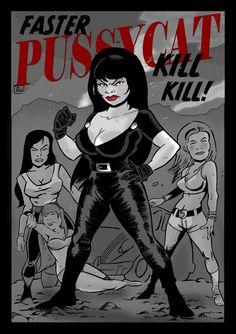 CAIDO DE UN PERAL - Cómic e Ilustración: Faster Pussycat Kill Kill!