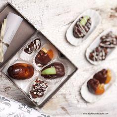 Dörrobst-Pralinen Cappuccino Pulver, Candy Recipes, Panna Cotta, Sugar, Snacks, Cookies, Aladdin, Ethnic Recipes, Desserts