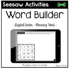 by Teach Live Travel 2nd Grade Spelling, Spelling Words, Word Work Games, Spelling Activities, Listening Activities, Traveling Teacher, Learning Support, 21st Century Learning, 2nd Grade Reading