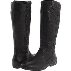 Born - Sage (Black Crunched Leather) - Footwear, $141.99   www.findbuy.co/store/6pm #Born