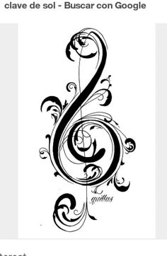 "Search Results for ""clave de sol y fa wallpaper"" – Adorable Wallpapers Music Tattoo Designs, Music Tattoos, Body Art Tattoos, Tatoos, Music Drawings, Art Drawings, Osiris Tattoo, Tattoo Painting, Stencils"