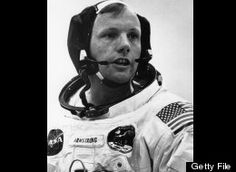 Neil Armstrong, Commander of the space ship Apollo 11, first man on the moon in 1969...dead at age 82 on Saturday, August 25, 2012