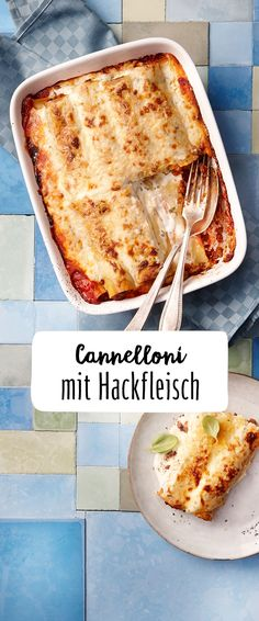 Cannelloni mit Hackfleisch Cannelloni with minced meat is a classic of the Italian cuisine! The juicy minced meat filling in a spicy tomato sauce with a hearty parmesan crust is a real treat for the w Pizza Recipes, Meat Recipes, Snack Recipes, Snacks, Italian Chef, Italian Recipes, Gluten Free Enchiladas, Spicy Tomato Sauce, Carne Picada