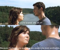 Even cheesy chick flicks can have wise words to live by.