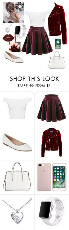 """""""Untitled #268"""" by kait-h ❤ liked on Polyvore featuring WearAll, BCBGeneration, French Connection, Apple and Lime Crime"""