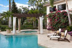 Spanish pool #CourtYard #Landscape #Outdoor ༺༺  ❤ ℭƘ ༻༻