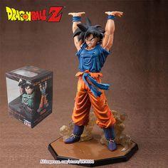 "Anime Dragon Ball Z ZERO Son Goku Genki Dama Spirit Bomb Action Figure Juguetes DragonBall Figures Brinquedos Kids Toys 6.8"""