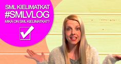http://youtu.be/N4_e6txeQus  Katso SML Kielimatkojen ensimmäinen videoblogi. Hyödynnä videoblogejamme tulevien matkojesi suunnittelussa. Käytä vlogiamme apunasi ratkaisemaan kaikki kysymyksesi kielimatkoista, jotta saat parhaan mahdollisen matkakokemuksen ulkomailla.    #SMLMatka #smlkielimatka #videoblogi #blogi #Kielimatkat #Kielikurssi #kielimatka #matka #matkalla #matkablogi #finnishboy #finnishgirl #SMLVlog #vlog