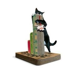 If you cat is wrecking havoc on your home furniture then you need a good cat scratching post – but not just any cat scratching post will do. The King Kong Cat Scratch Post will release your cat's inner beast so it has no energy left to do any damage to your other furniture.